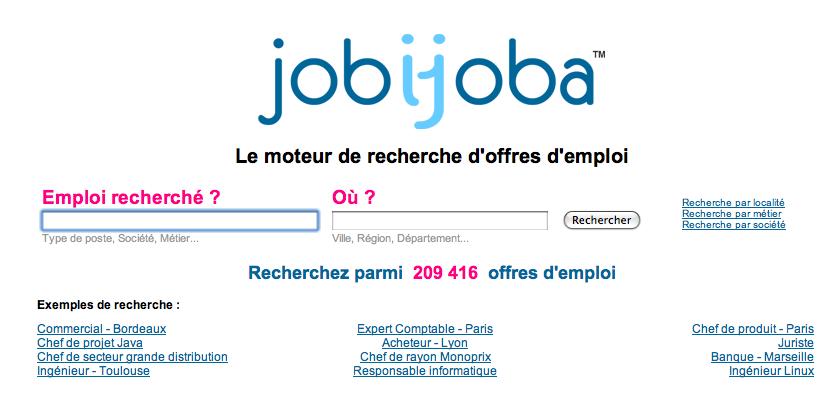 jobijoba lance sa nouvelle version  et un nouveau service