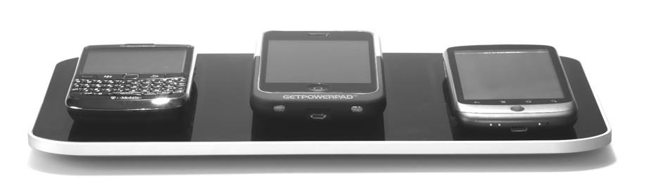 le gadget de la semaine getpowerpad le chargeur sans fil. Black Bedroom Furniture Sets. Home Design Ideas