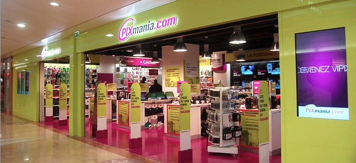 Pixmania-store