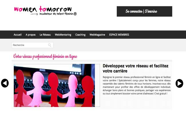 Photo de [Atelier numérique – BFM Business] La chronique start-up de Frenchweb #47 : Women Tomorrow