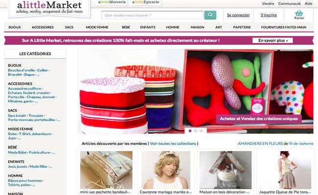La Plateforme E Commerce Alittlemarket Se Lance Dans L