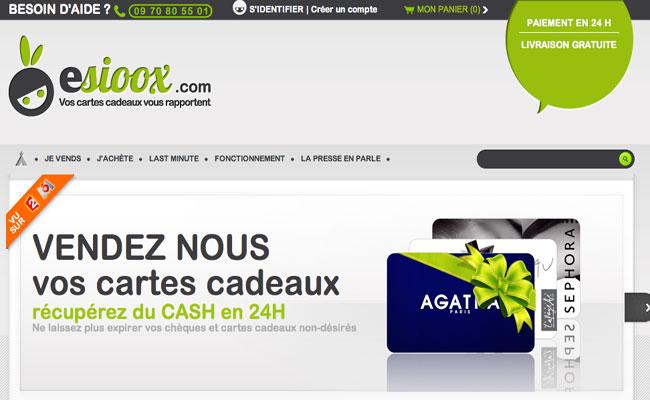 Photo de Esioox lève 500 000 euros pour développer son activité de rachat de cartes cadeaux