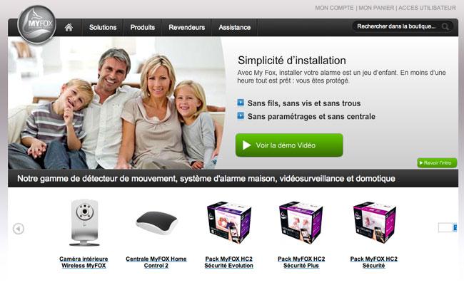 Photo de Internet des objets: la start-up française MyFOX lève 3,2 millions d'euros