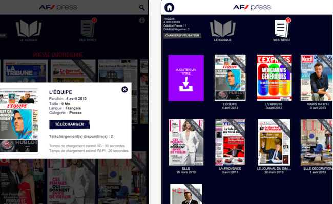 Photo de Air France lance sa nouvelle offre de presse digitale sur iPad