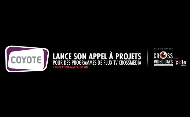 Photo de Appel à projets Coyote pour des programmes TV crossmedia, Inscrivez votre projet en ligne avant le 31 mai !