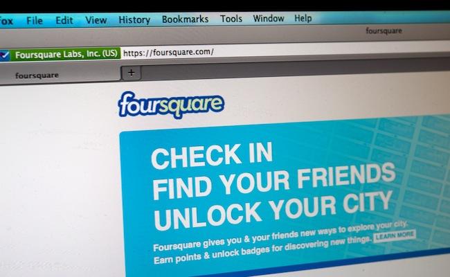 Foursquare-levée