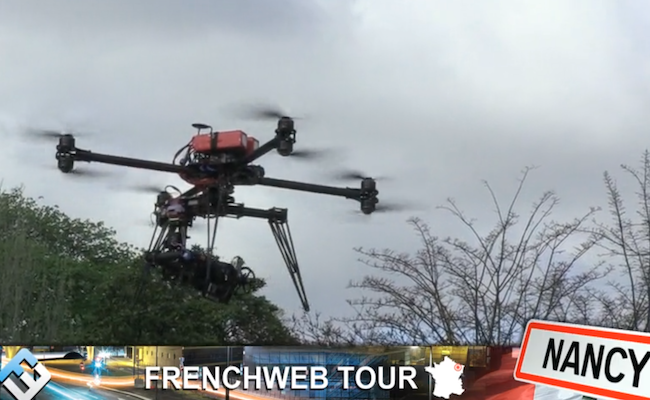 Photo de [FrenchWeb Tour Nancy] Comme Parrot, Fun RC Toys fait le pari des mini-drones. Démonstration