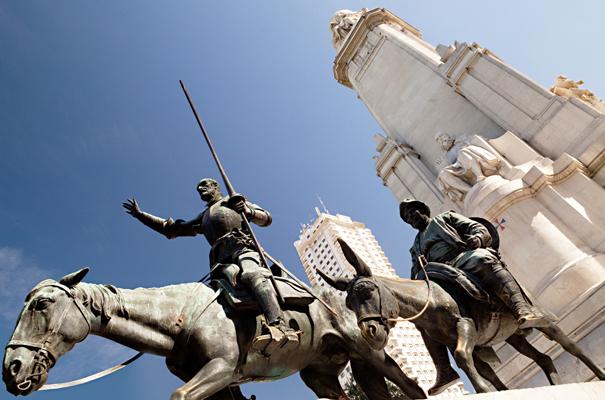 Photo de Madrid – La suite du tour du monde du livre Les dessous du Web