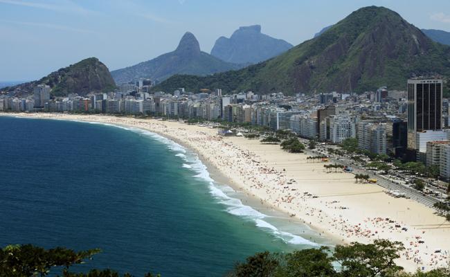 Photo de Rio de Janeiro – Du mouvement sur la trace du livre Les dessous du Web