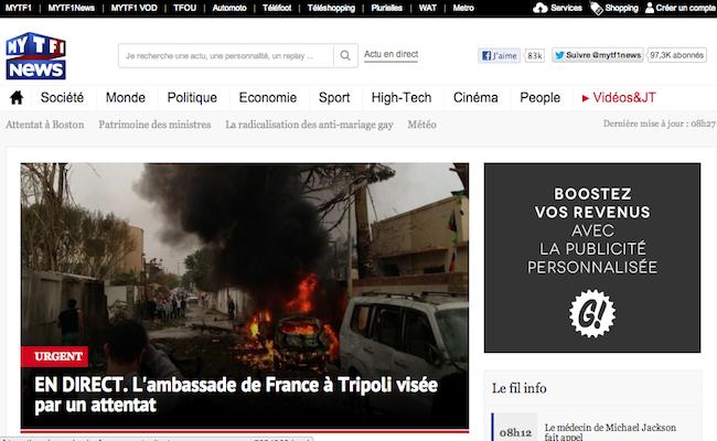 Photo de MYTF1News connectera les JT au second écran