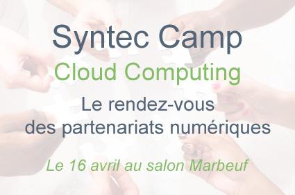 Photo de Syntec Camp Cloud Computing, le 16 avril à Paris