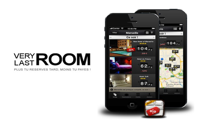 Photo de VeryLastRoom lève 400 000 euros pour son application de réservation d'hôtels à prix cassé