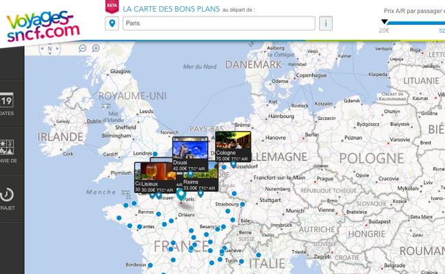 Photo de Voyages-sncf.com décline sa marque à travers 13 pays en Europe