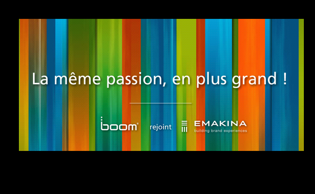 Photo de Emakina rachète l'agence Boom Mobile