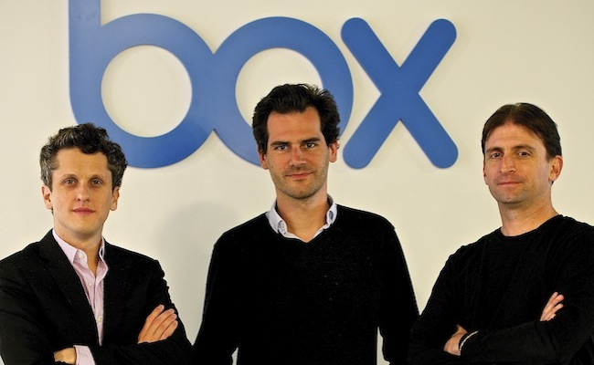 Box CEO Aaron Levie, Martin Destagnol and SVP of Engineering, Sam Schillace (Close up) (1)