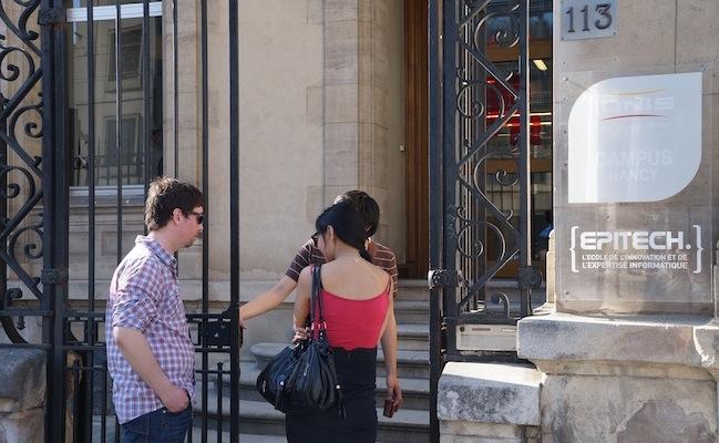 Photo de [FrenchWeb Tour Nancy] Epitech tente d'endiguer la fuite de développeurs