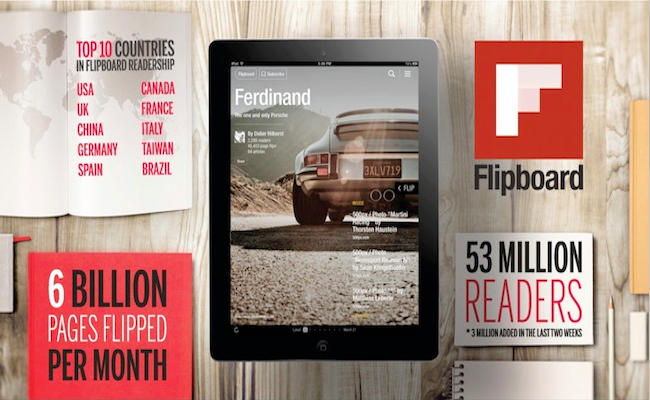 Photo de Flipboard 2.0 attire 3 millions de nouveaux utilisateurs