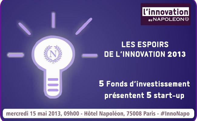 Photo de Les espoirs de l'Innovation au Napoléon, le 15 mai à Paris
