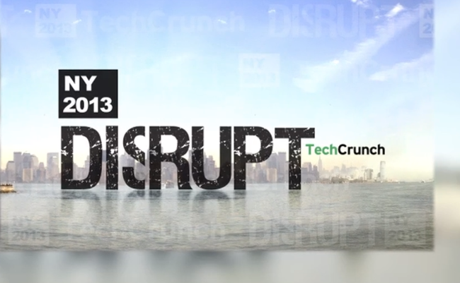 Photo de TechCrunch Disrupt New York vu par Frédéric Montagnon