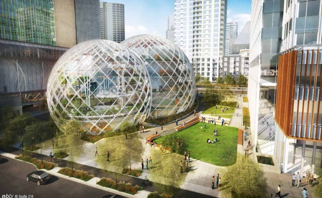 Photo de Amazon va construire un nouveau siège social futuriste à Seattle