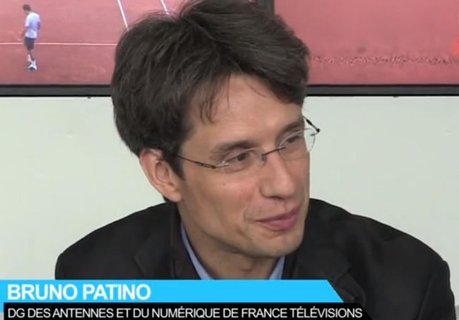 Photo de [Grand Format] Bruno Patino, France Télévisions: «1 million de vidéos vues en TV de rattrapage»