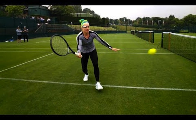 Photo de [Expert] Bethanie Mattek-Sands portera des Google Glasses à Wimbledon, par Hubert Munyazikwiye
