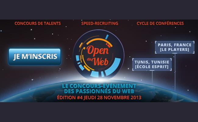 Photo de Les Open du Web: Le concours évênement des passionnés du Web
