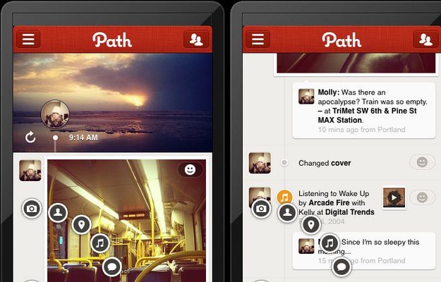 Photo de Path lève 50 millions de dollars et cherche sa voie
