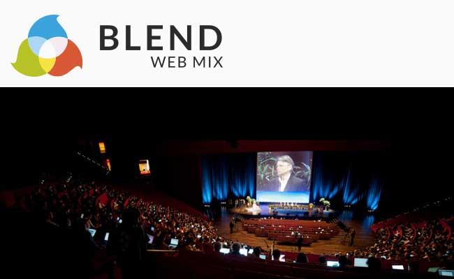 Photo de Conférence Blend le 1er et 2 octobre à Lyon