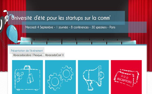 Photo de Université d'été pour les startups sur la comm'