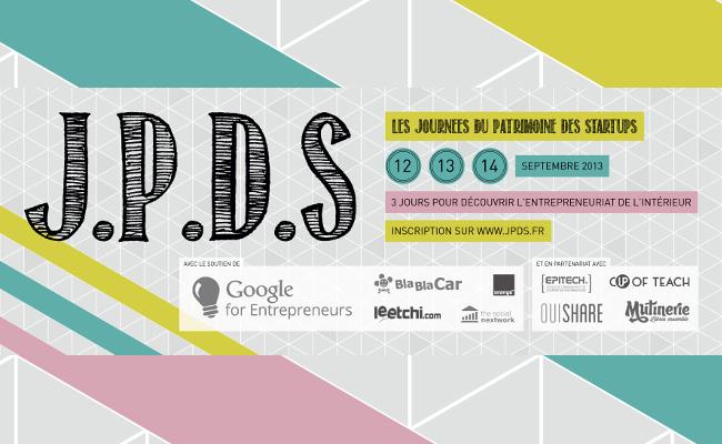 Photo de #JPDS Les Journées du Patrimoine des Startups, les 12, 13 et 14 septembre