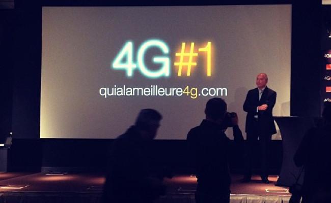 Photo de [La photo du jour] Le Tout Paris connaît désormais la 4G