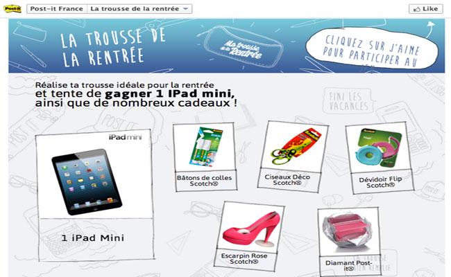 Photo de Les medias sociaux pour faire découvrir les autres produits de la marque Post-It™