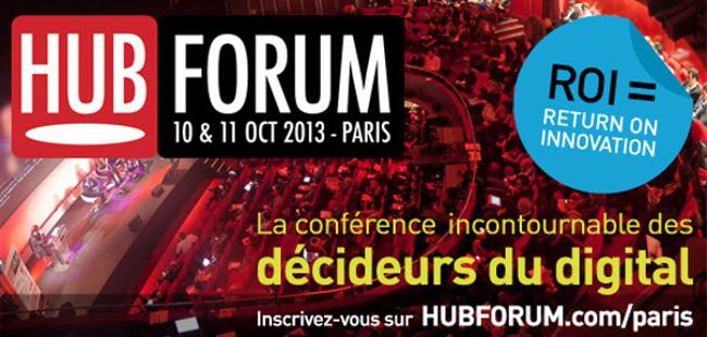 Photo de HUBFORUM Paris 2013, les 10 & 11 Octobre 2013 à Paris