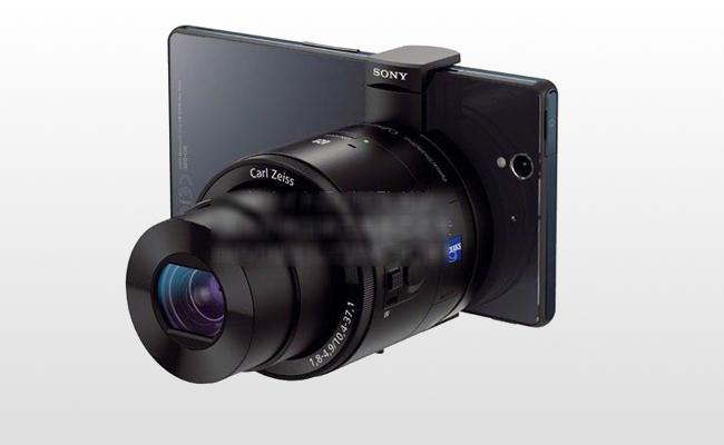 Photo de [La photo du jour] A l'IFA, les nouveaux objectifs pour smartphones de Sony
