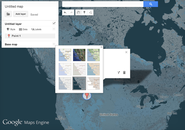 Photo de Lancement de Maps Engine Pro