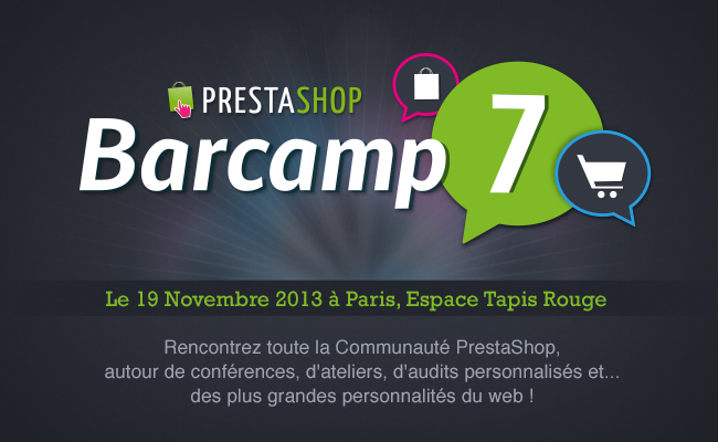 Photo de PrestaShop Barcamp 7