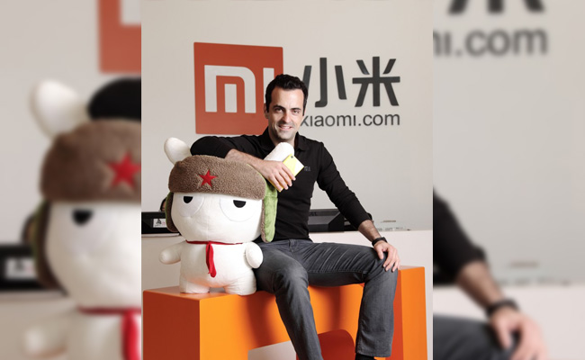 Photo de [La photo du jour] Hugo Barra, Xiaomi J+7