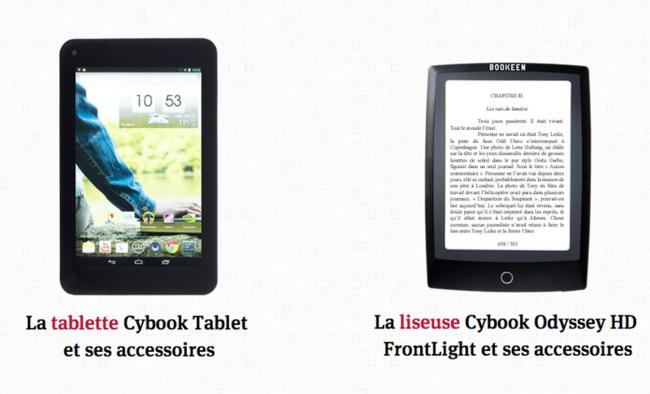 Photo de Les kiosques Relay et Bookeen lancent une tablette spéciale magazine
