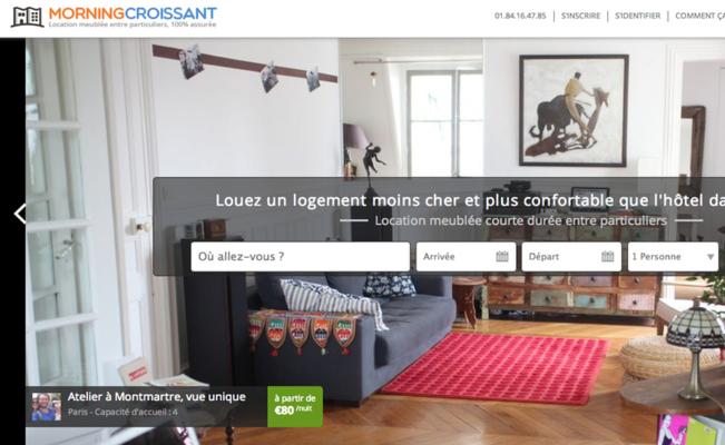 Photo de L'Express Ventures investit dans le site de location meublée MorningCroissant