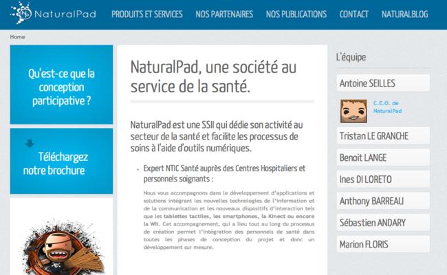Photo de La startup du jour : Natural Pad, l'art du serious gaming à but thérapeutique