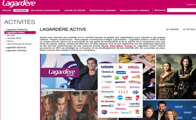 Photo de Lagardère se renforce dans le numérique avec 11 millions d'euros dans Idinvest Partners