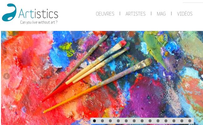 La startup du jour : Artistics, pour acheter des œuvres directement auprès des artistes - Decode Media