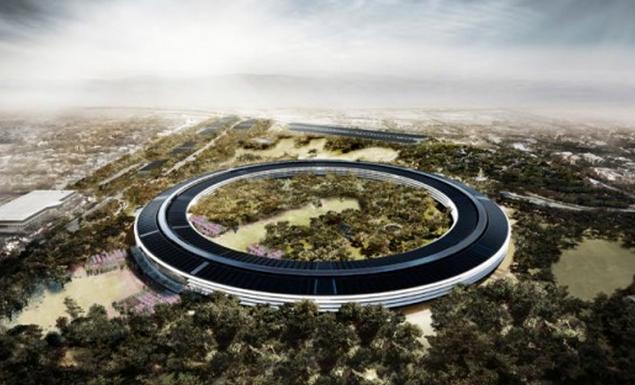 Photo de Apple pourra bien construire son campus futuriste