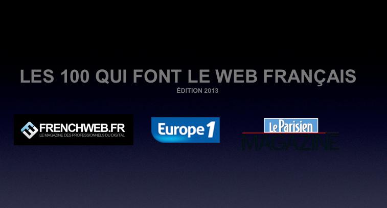 Photo de Les 100 influenceurs du net français en 2013
