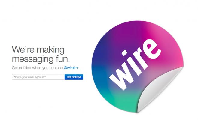 Photo de Wire, un concurrent de possible de Snapchat, lève 1,8 millions de dollars