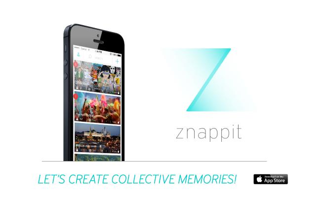 [Bon App'] Znappit réalise des montages collaboratifs de vidéos lors d'événements - Decode Media