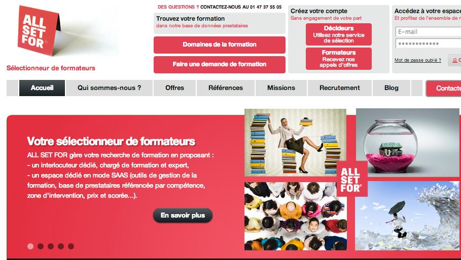 Photo de La startup du jour : AllSetFor, plateforme de gestion des achats dans l'expertise et la formation professionnelle
