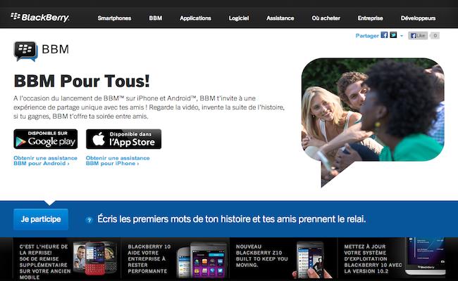 Photo de CONFIDENTIEL – Blackberry Messenger va devenir un réseau social instantané et intégrera les marques
