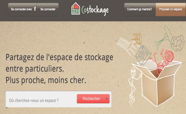 Photo de La startup du jour : Costockage, la solution pour remiser ses affaires entre particuliers